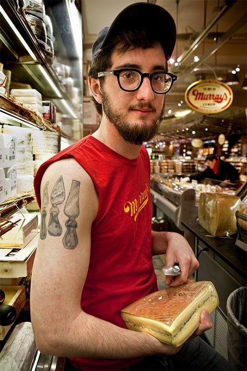 Cheese knifes tattoo