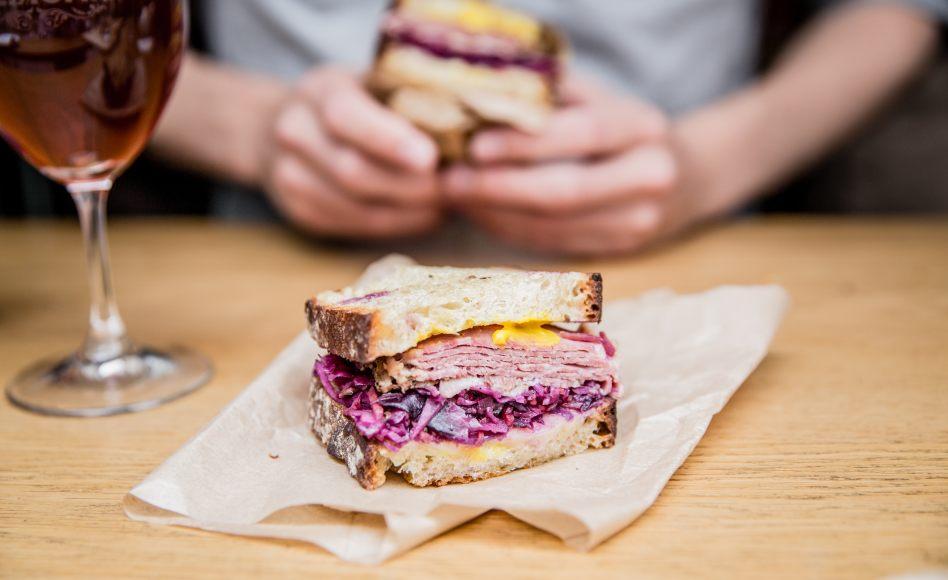 Le sandwich Ruben par Greg Marchand