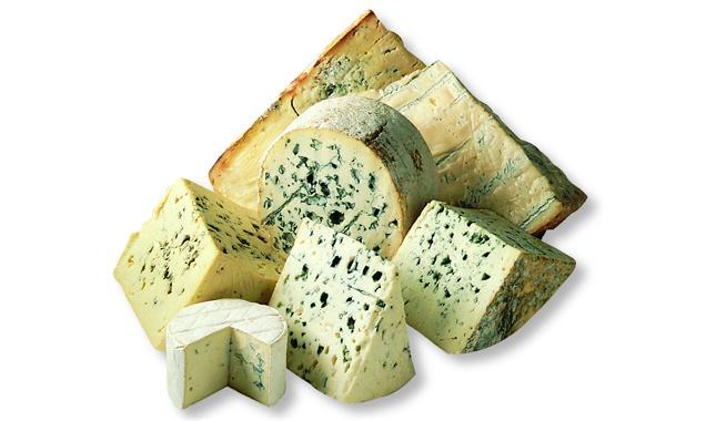 Veined cheeses
