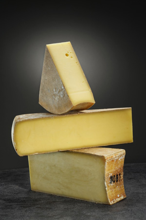 Pressed cooked cheese, hard cheese